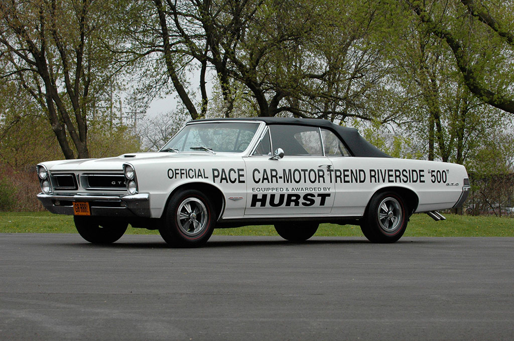 1965 Hurst Motor Trend Riverside 500 Pace Car Gto Colin