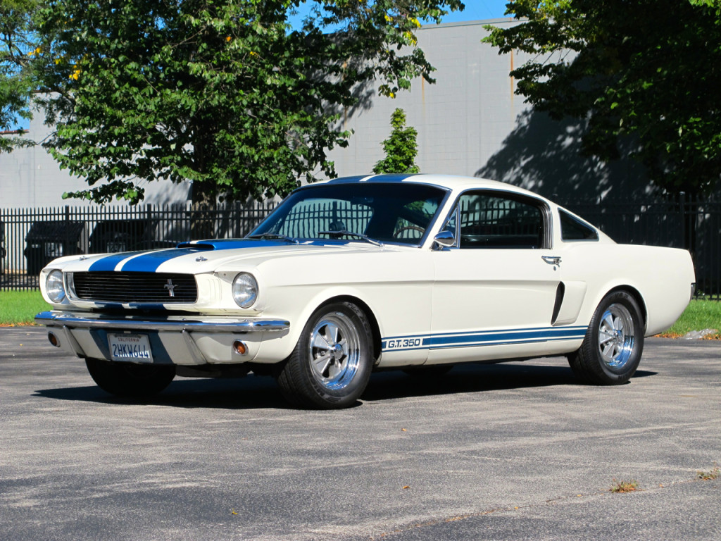 """1966 Shelby GT350 """"Carryover"""" 6S150 