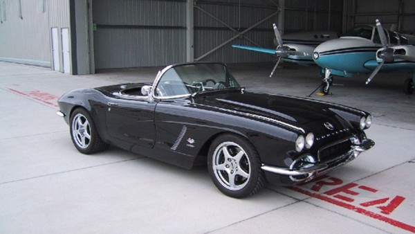 newman vette right front