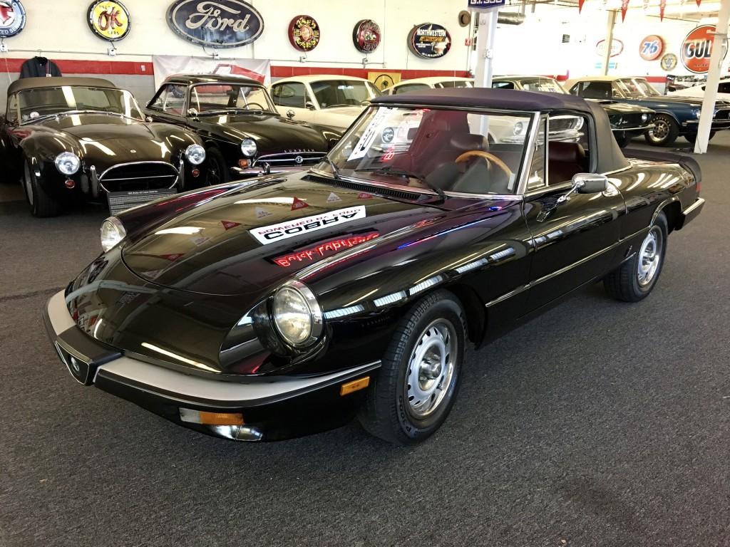 1985 alfa romeo spider graduate | colin's classic auto