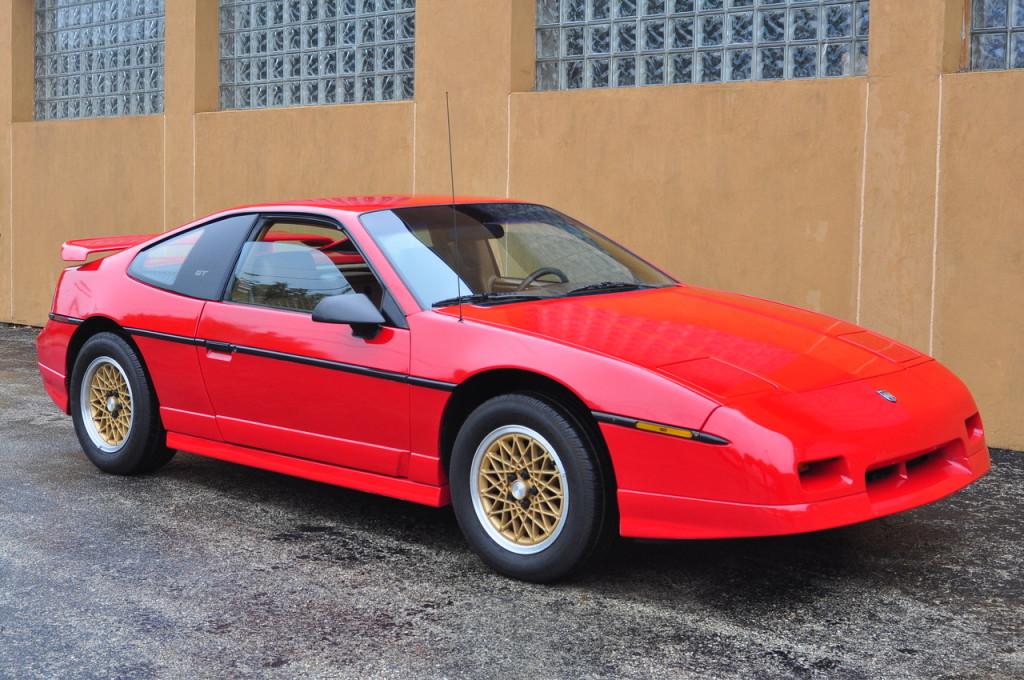 1988 Pontiac Fiero Gt 5 Speed 1 Owner 47k Miles Colin S Classic Auto