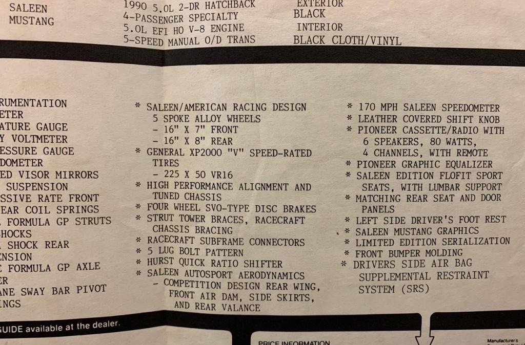 1990 Saleen Mustang – Bleakley Impressor Stage II | Colin's